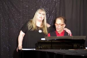 Gina Pietsch und Bardo Henning in der Musikbrennerei